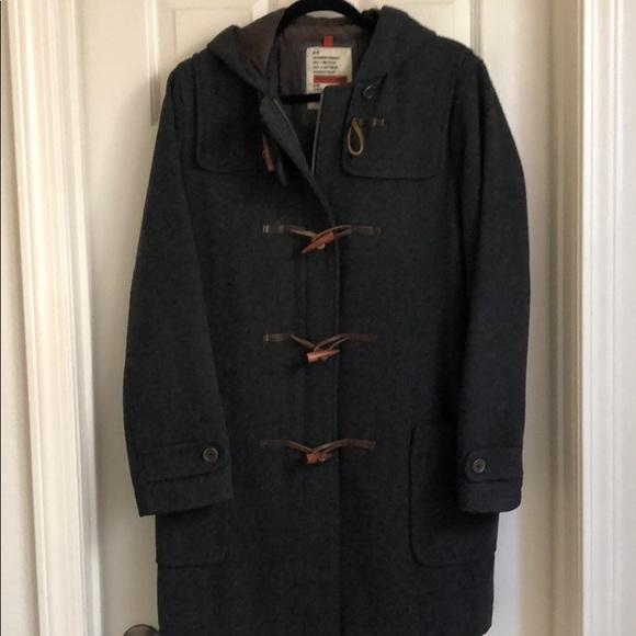 Abercrombie Wool Blend Duffle Coat